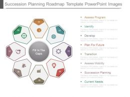Succession Planning Roadmap Template Powerpoint Images
