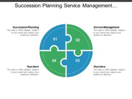 Succession Planning Service Management Competitive Intelligence Customer Service Analytics Cpb