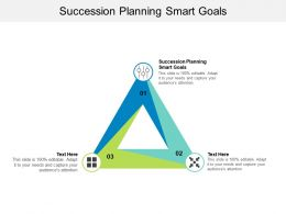 Succession Planning Smart Goals Ppt Powerpoint Presentation Inspiration Graphic Tips Cpb
