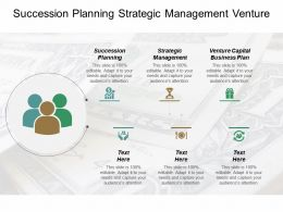 Succession Planning Strategic Management Venture Capital Business Plan Cpb
