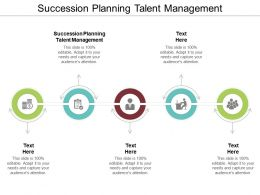 Succession Planning Talent Management Ppt Powerpoint Presentation Influencers Cpb