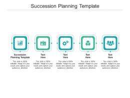 Succession Planning Template Ppt Powerpoint Presentation Slides Skills Cpb