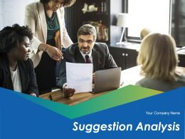 Suggestion Analysis Powerpoint Presentation Slides