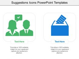 Suggestions Icons Powerpoint Templates