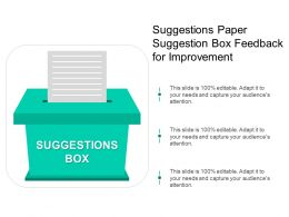 Suggestions Paper Suggestion Box Feedback For Improvement