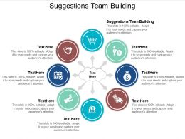 Suggestions Team Building Ppt Powerpoint Presentation Ideas Graphics Example Cpb