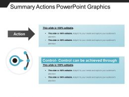 Summary Actions Powerpoint Graphics