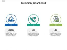 Summary Dashboard Ppt Powerpoint Presentation Ideas Graphics Template Cpb