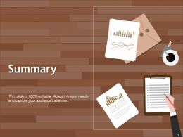 Summary Powerpoint Slide Graphics