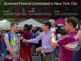 Summer Festival Celebrated In New York City