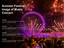 Summer Festival Image Of Music Concert