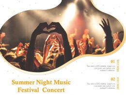 Summer Night Music Festival Concert