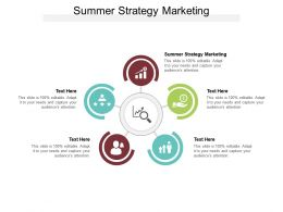 Summer Strategy Marketing Ppt Powerpoint Layouts Backgrounds Cpb