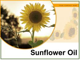 Sunflower Oil Process Healthy Comparative Extraction Procedure Industrial