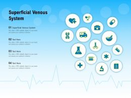Superficial Venous System Ppt Powerpoint Presentation Outline Design Inspiration