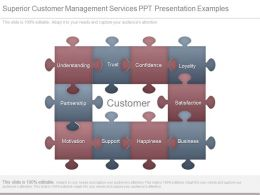 Superior Customer Management Services Ppt Presentation Examples