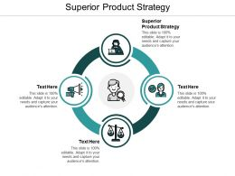 Superior Product Strategy Ppt Powerpoint Presentation Inspiration Model Cpb