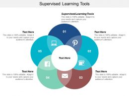 Supervised Learning Tools Ppt Powerpoint Presentation Infographic Template Visuals Cpb