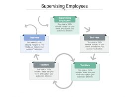 Supervising Employees Ppt Powerpoint Professional Graphics Design Cpb