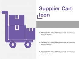 Supplier Cart Icon