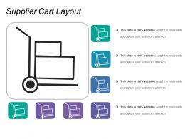 Supplier Cart Layout