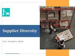 Supplier Diversity Process Arrows Communication Comparison Management