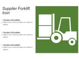Supplier Forklift Icon