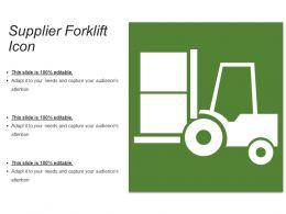Supplier Forklift Icon