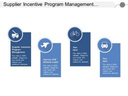 Supplier Incentive Program Management Improve B2b Website Leads Cpb
