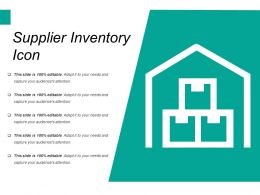 Supplier Inventory Icon