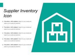 Supplier Inventory Icon