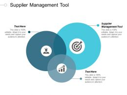 Supplier Management Tool Ppt Powerpoint Presentation Icon Examples Cpb