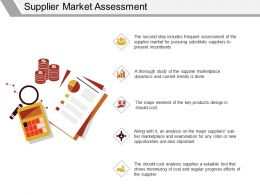 Supplier Market Assessment Ppt Example File