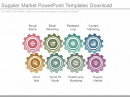Supplier Market Powerpoint Templates Download
