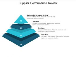 Supplier Performance Review Ppt Powerpoint Presentation Inspiration Graphic Images Cpb