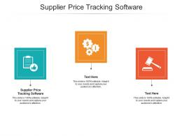 Supplier Price Tracking Software Ppt Powerpoint Presentation Image Cpb