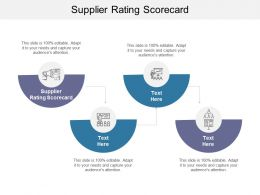 Supplier Rating Scorecard Ppt Powerpoint Presentation Layouts Layout Ideas Cpb