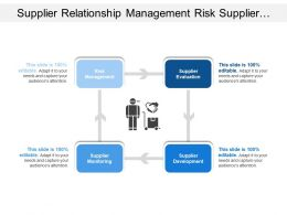 Supplier Relationship Management Risk Supplier Monitoring Development