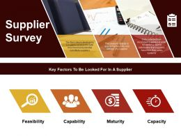 Supplier Survey Ppt Samples Download