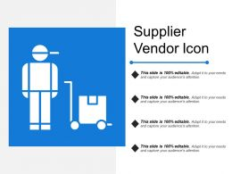 Supplier Vendor Icon
