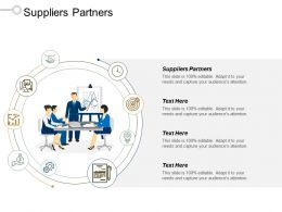 Suppliers Partners Ppt Powerpoint Presentation Icon Aids Cpb