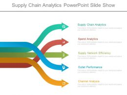 Supply Chain Analytics Powerpoint Slide Show