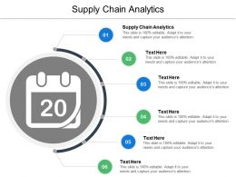 Supply Chain Analytics Ppt Powerpoint Presentation Ideas Display Cpb