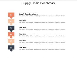 Supply Chain Benchmark Ppt Powerpoint Presentation Summary Shapes Cpb