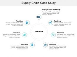 Supply Chain Case Study Ppt Powerpoint Presentation Styles Template Cpb
