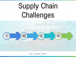 Supply Chain Challenges Opportunity Management Transportation Marketing Companies