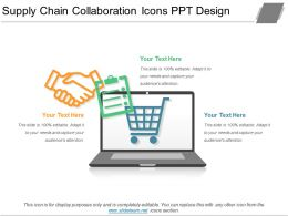Supply Chain Collaboration Icons Ppt Design