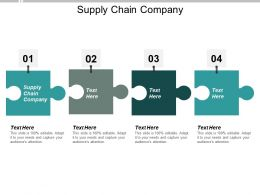 Supply Chain Company Ppt Powerpoint Presentation Layouts Introduction Cpb