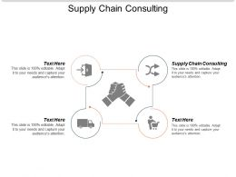 Supply Chain Consulting Ppt Powerpoint Presentation Ideas Background Images Cpb