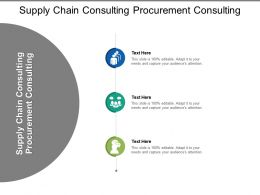 Supply Chain Consulting Procurement Consulting Ppt Powerpoint Presentation Infographics Tips Cpb